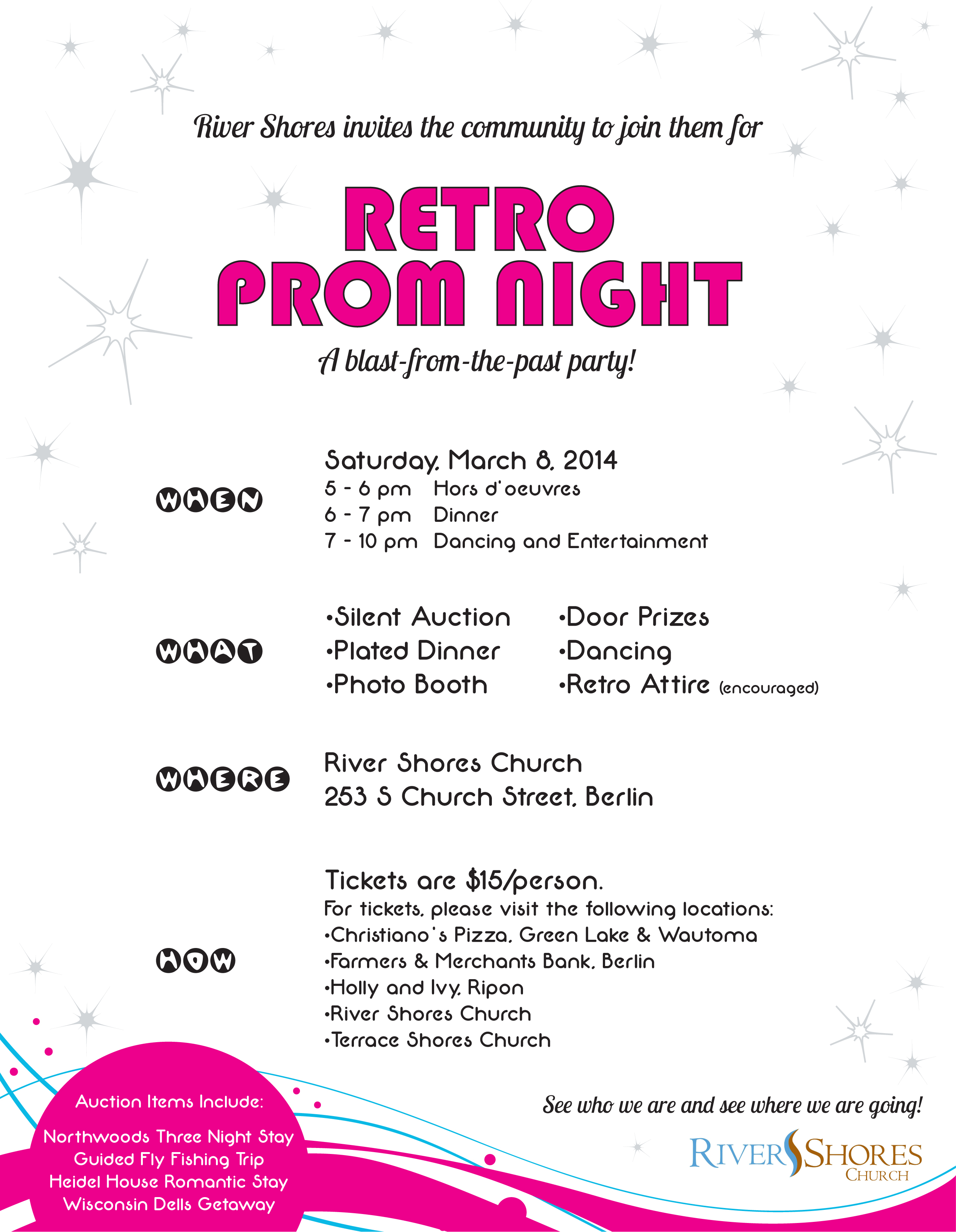 Retro prom terrace river shores church invite friends on facebook 1betcityfo Images